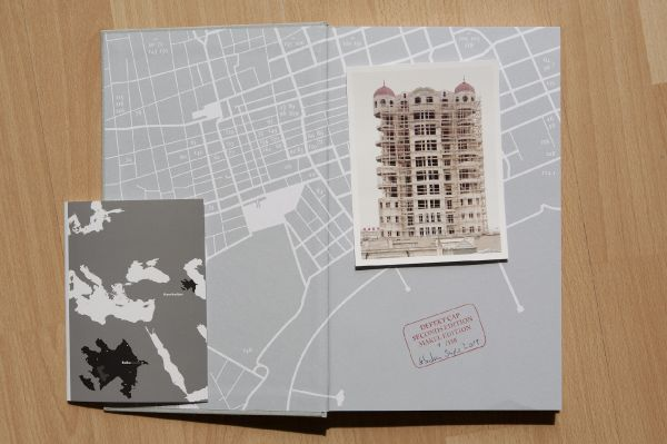 Baku Seconds Edition: book with a slight binding damage therefore with signed baryte print in a edition of 150; 38 €