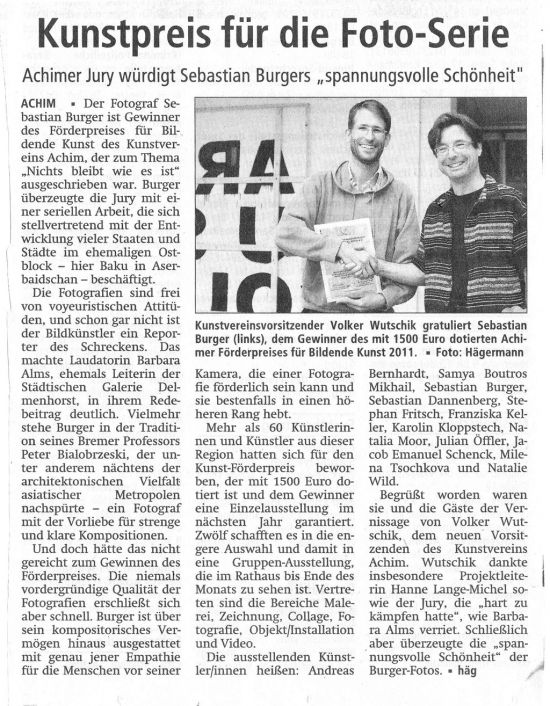 2011_10_04_Kreisblatt_Achim